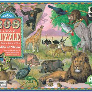 puslespil Eebbo Wildlife of Africa