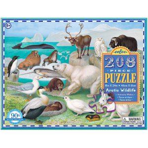 puslespil Eeboo Artic Wildlife